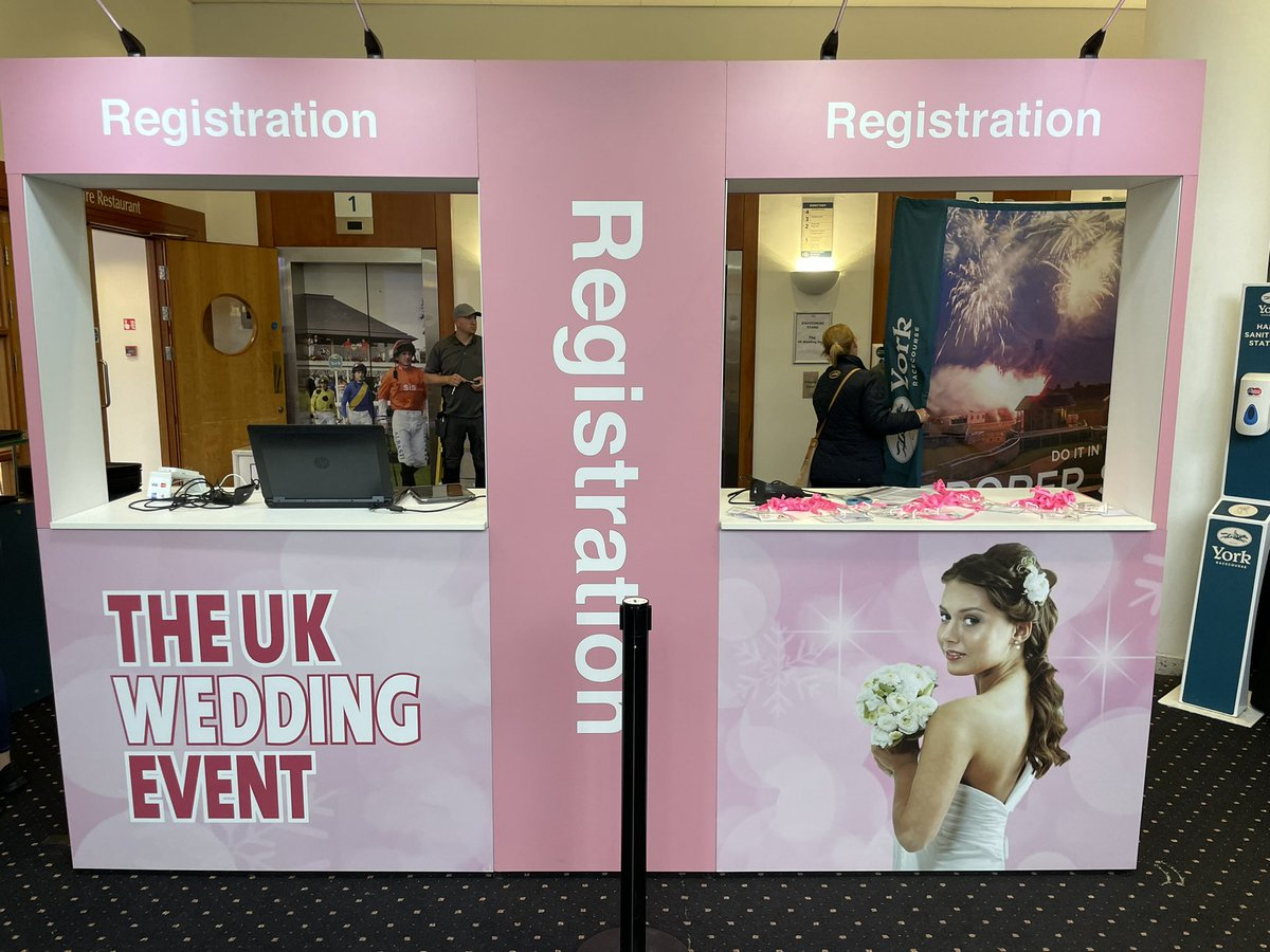 What a fantastic day at  York Races   For the  The UK Wedding Event  big show. We met some great folk and can't wait to get these parties started. Bring on 2022 #weddingfayre #bride #grabaprop #groom #letsparty #letthemagicbegin #magicmirror #yorkshire #yorkshiremagicmirror