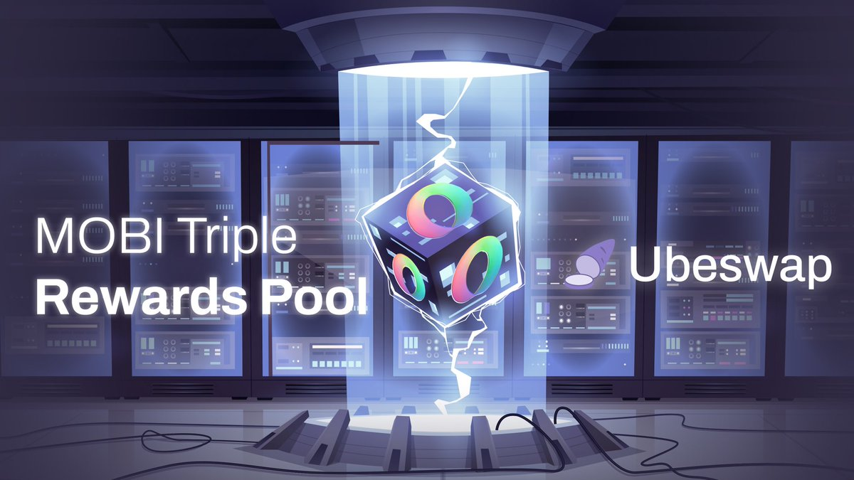 Triple rewards for MOBI-CELO pool are now live! 👩🌾 The additional CELO rewards are part of Mobius's #DeFi4ThePeople grant.