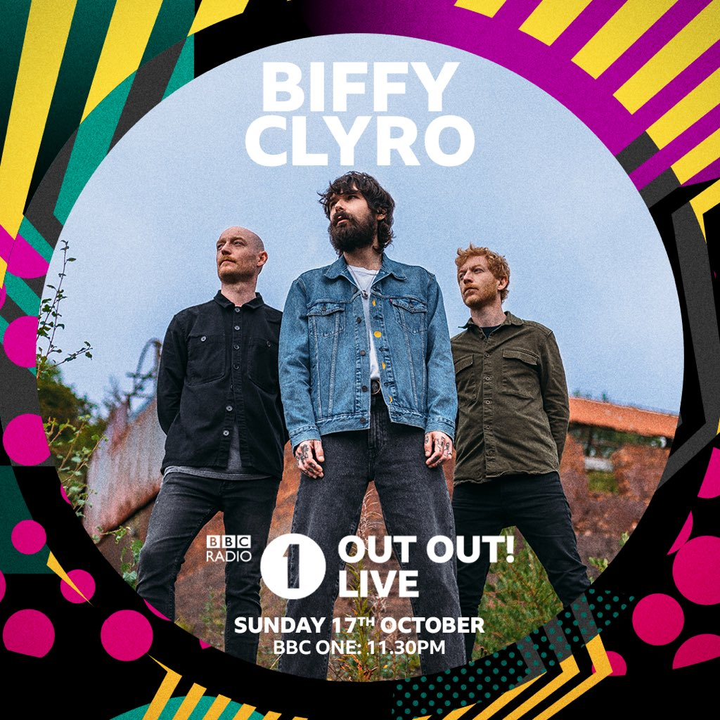 Catch Biffy tonight on @BBCOne at 11.30pm #R1OutOutLive @BBCR1
