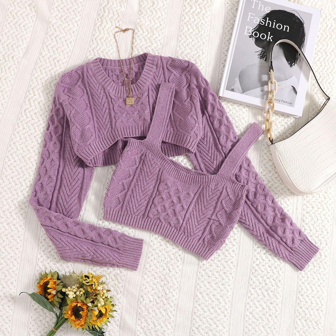Purple is always a mood 💜 Shop now>> shein.top/y21nhn7 #SHEIN #SHEINstyle #SHEINFW21