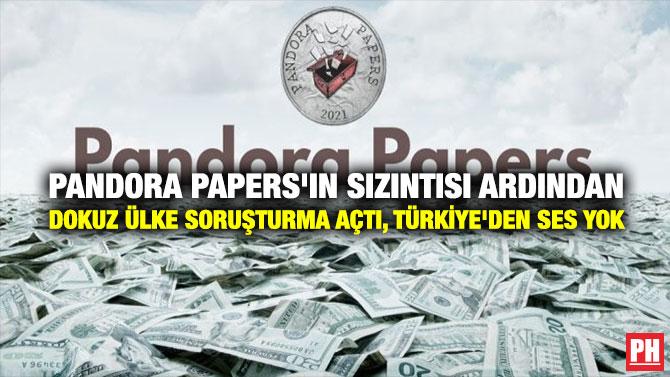 Pandora Papers'ın Sızıntısı Ardından Dokuz Ülke Soruşturma Açtı, Türkiye'den Ses Yok parlamentohaber.com/?p=219318