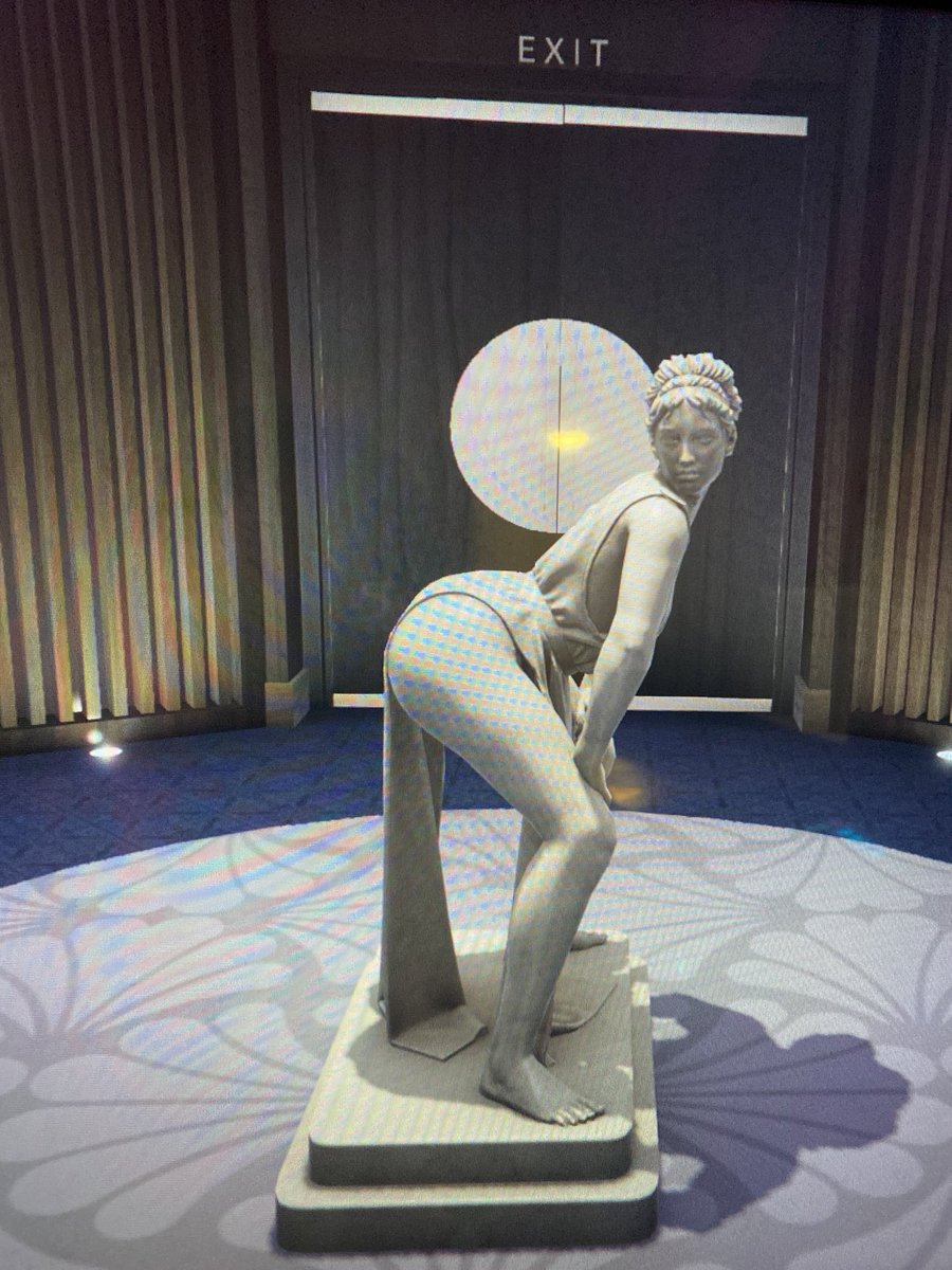 Yes I realize I could of screenshot these for better quality but these sculptures in GTA V had me very amused.