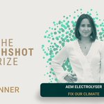 Image for the Tweet beginning: 🇹🇭 Congratulations to AEM Electrolyser