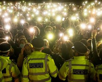 When is Priti Patel going to announce that the public are going to get police protection?
