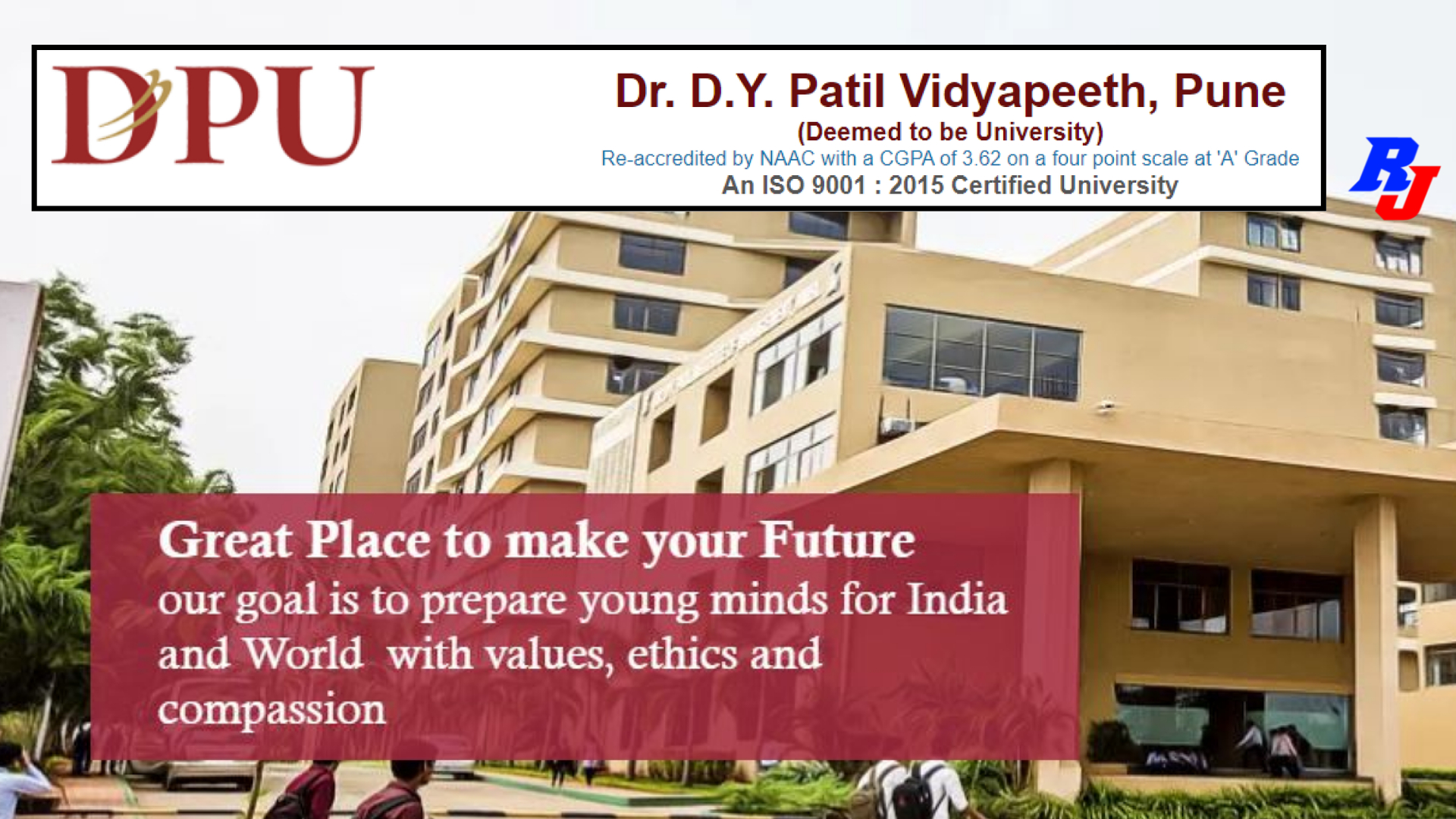 Faculty Positions in DPU, D Y Patil University, Pune, Maharastra, India