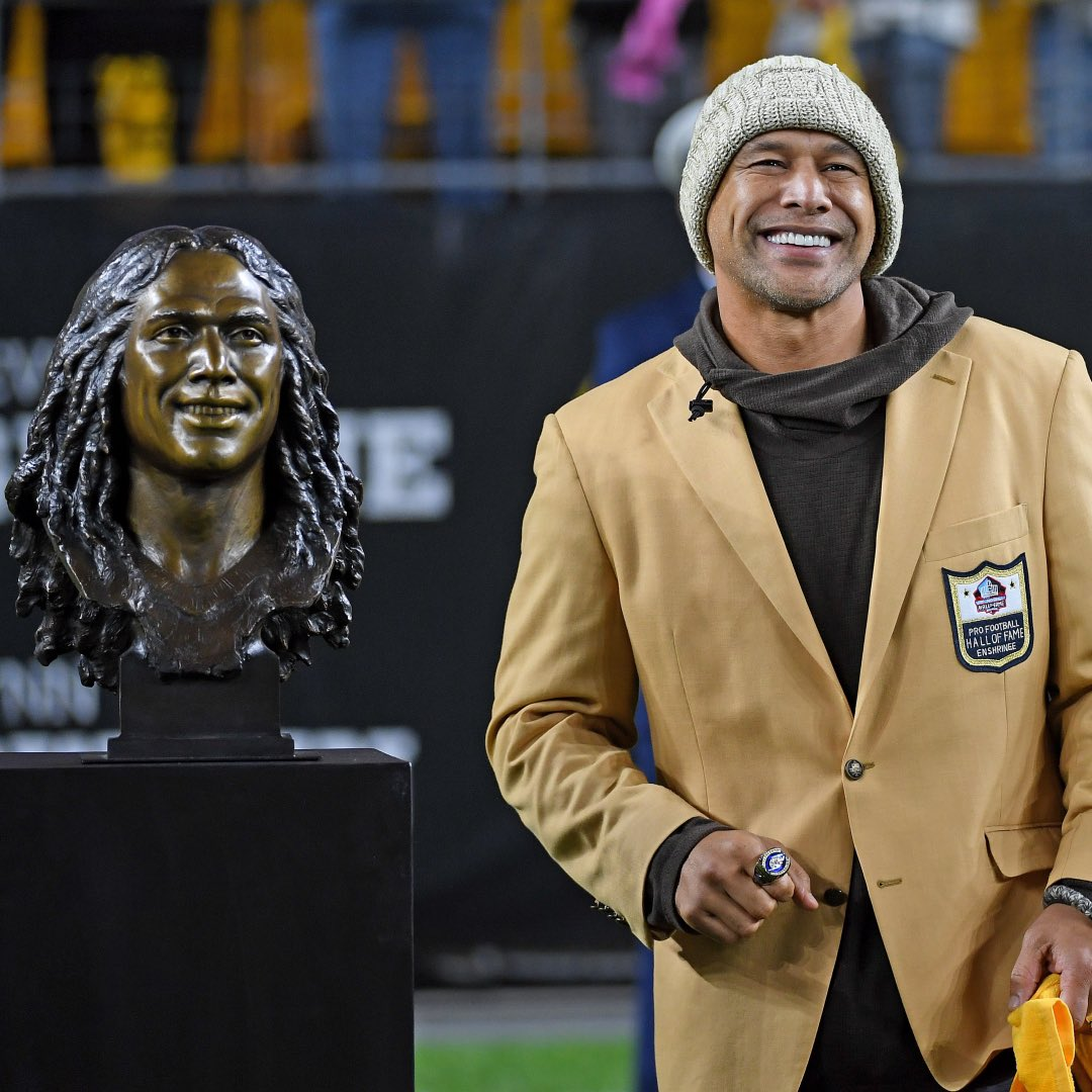 Hall of Fame swag. 📷: @steelers