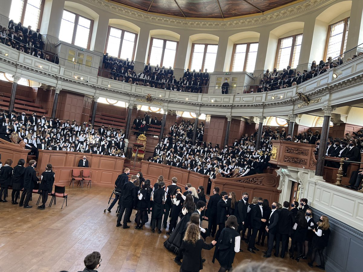HUGE!!! 🤯 My Matriculation at Oxford University! 🎓 This ceremony confers my membership as a student… I worked my ass off to get in and it's paid off! #CuppyOnAMission