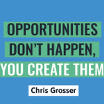 Image for the Tweet beginning: Make opportunities for yourself today!