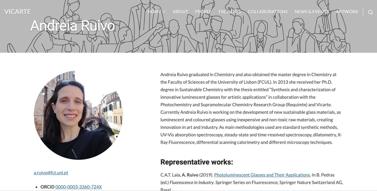 #Seminar: Down conversion materials: New luminescent glasses for artistic and technological applications by Prof. Andreia Ruivo, @FCTNOVA  🗓️2/11/2021 - 14:30 🚩CNRT @Universite_Caen @Reseau_Carnot @Carnot_ESP  @CNRS @CNRS_Normandie @normandieuniv @ensicaen @INC_CNRS