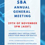 Image for the Tweet beginning: ATTENTION! The SBA AGM will