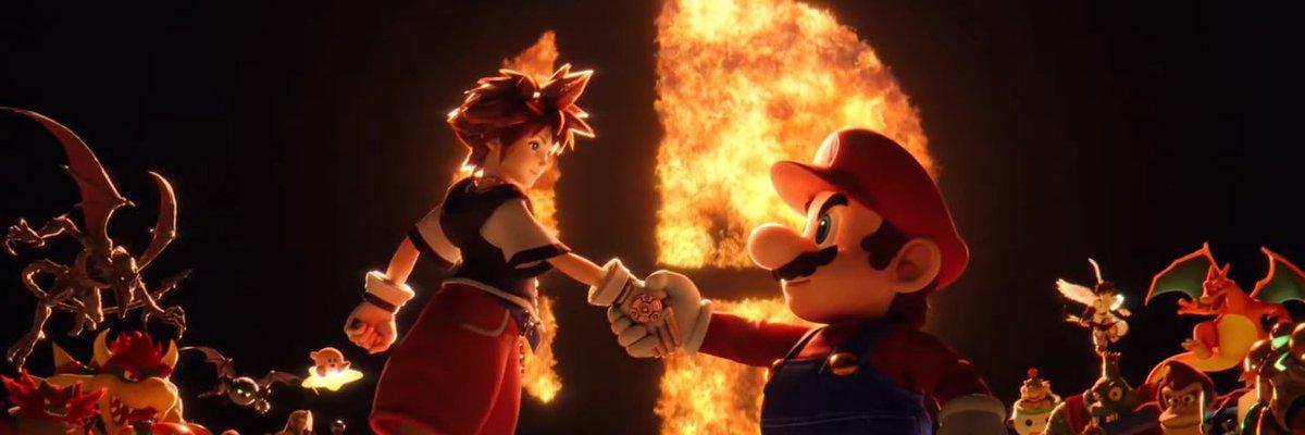 Mañana a las 15:00 tendremos a Sora en Smash!! 😍 https://t.co/y1F8iy9l2Q