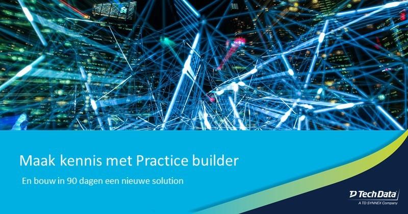 Met het Practice Builder programma kiest u…