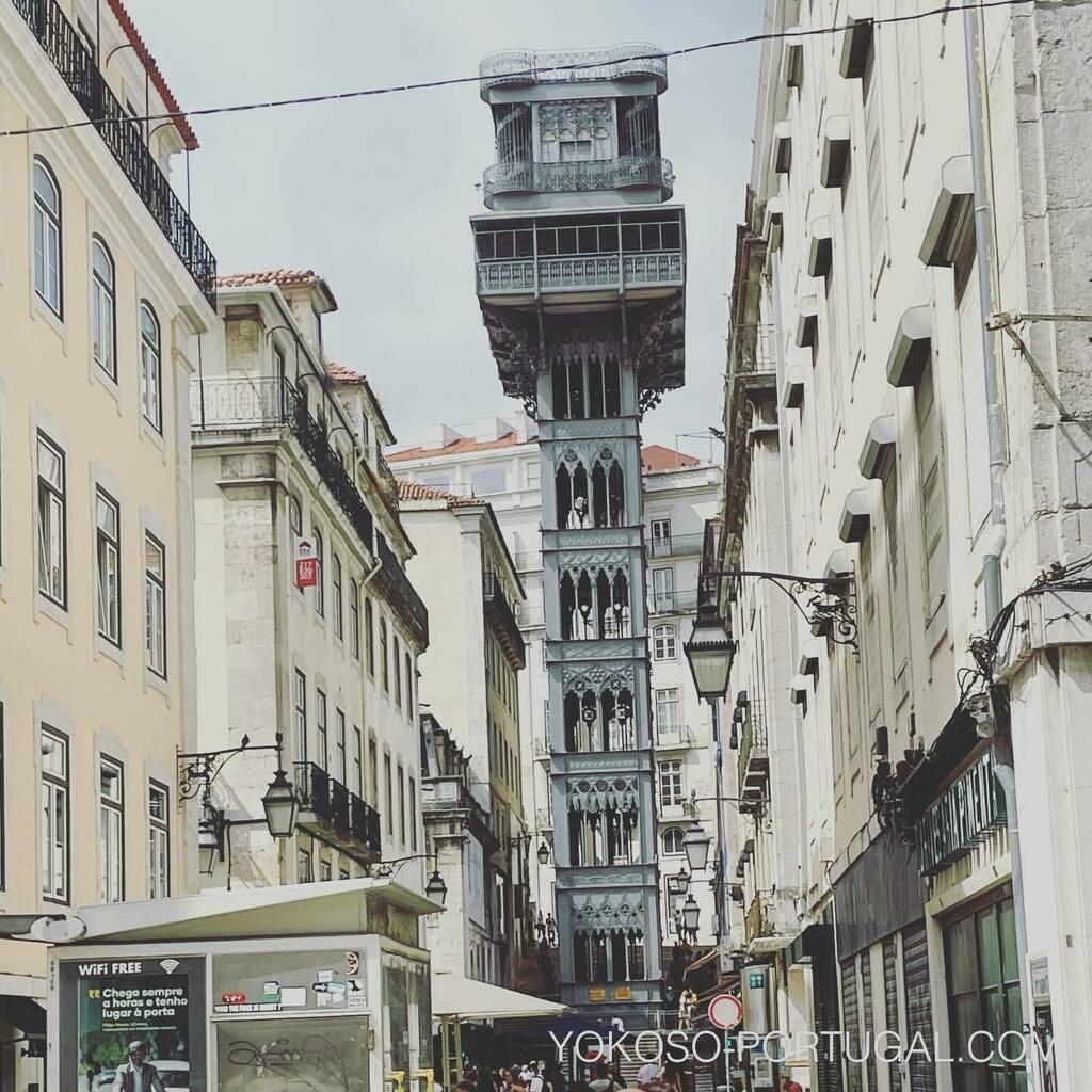 test ツイッターメディア - 1902年に完成した、バイシャ地区とシアード地区を結ぶサンタ・ジュスタのエレベーター。最近のリスボンはヨーロッパ他国からの旅行者で賑わってきました。 #ポルトガル #リスボン #ヨーロッパ旅行 https://t.co/F451l00mu5