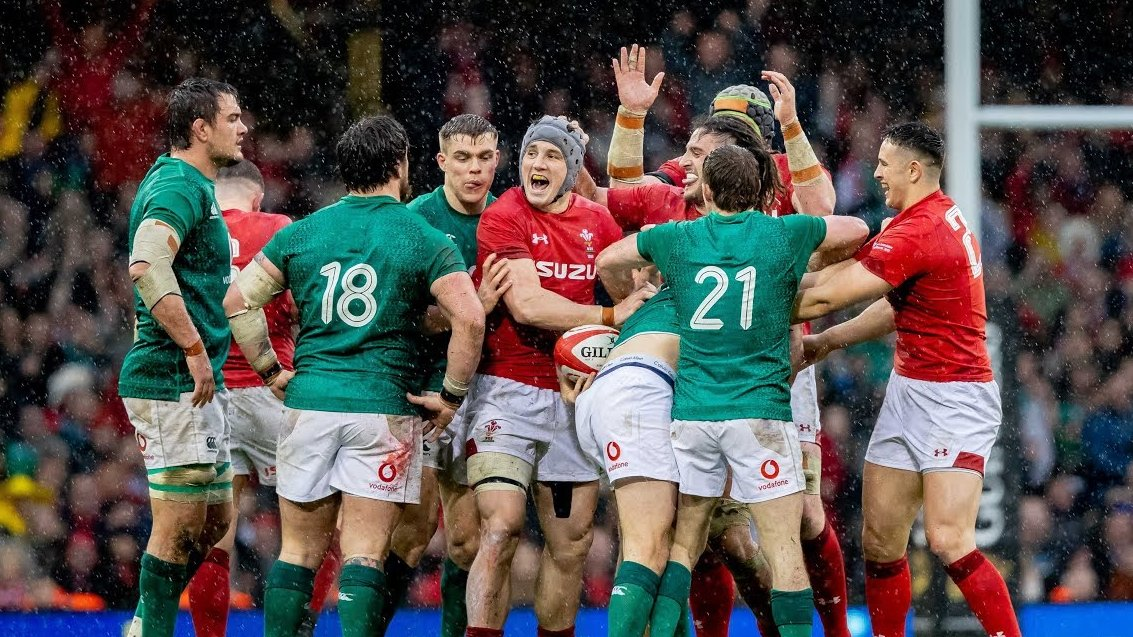 So this is interesting – from the 2027 RWC, World Rugby has announced that teams will not be allowed to wear red and green against each other, in a move designed to help the estimated 8% of fans who are colourblind. Is this going to be a thing of the past?