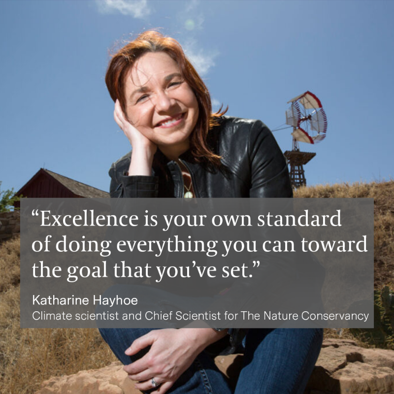 Climate change is not just an environmental issue but a serious health issue. On #TheArtOfExcellence podcast, @KHayhoe, Chief Scientist for @nature_org, spoke with @GlennZweig about what we could do today to cut carbon emissions in half: ego.nz/3F7KCdR
