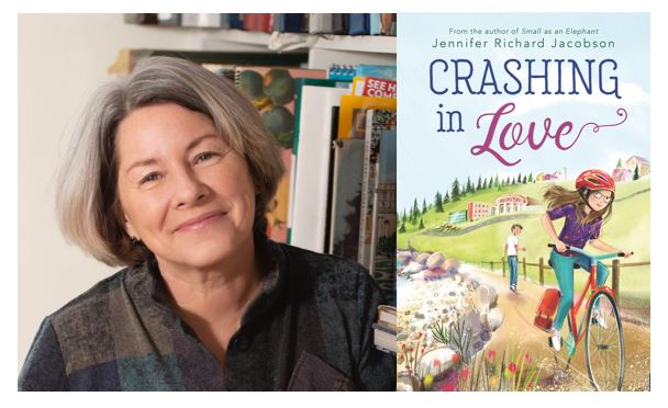 """test Twitter Media - """"For Teachers, by Teachers""""  Jennifer Richard Jacobson reflects on her journey from teaching to writing and talks to us about her new book, Crashing In Love. #kidlit  https://t.co/WMlcZWkWLn @Candlewick @CandlewickClass https://t.co/SZiwmkWKdO"""