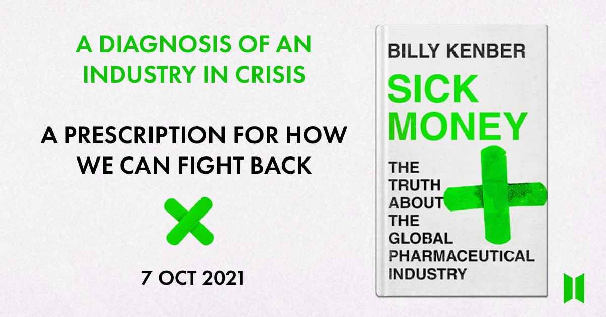 Both these parts of the #StoriesofourTimes podcast are well worth a listen. The global pharmaceutical industry is broken. Drug prices are being purposely hiked up to line pockets & medicines are being left to expire in warehouses. We need action. #SickMoney is published tomorrow.
