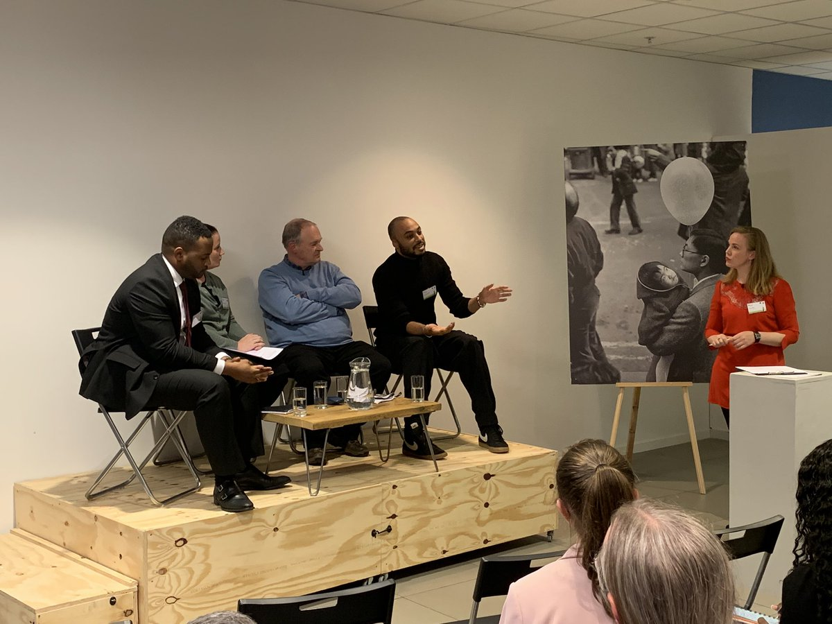 """""""The role of education is to transform students & get them to fall in love with knowledge. If you can centre students in the story, this is the best way."""" - Kwame Boateng @CurriculumBlack at launch of @PearsonHistory GCSE (9-1) History Migrants in Britain. Video to follow soon."""