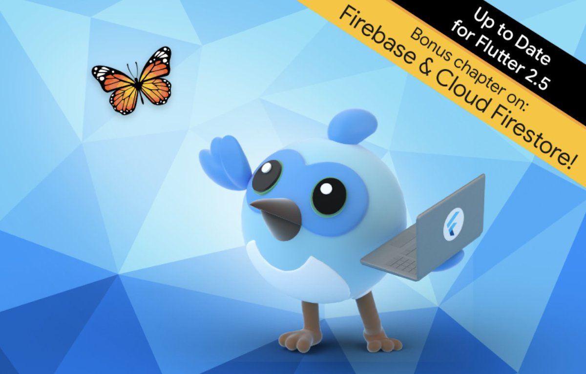 💫📚 Get free access to Flutter learning materials! Dive into #flutterapprentice by @rwenderlich to walk through your first fully-featured Flutter app, plus advanced concepts & more: ✔️ Persistence ✔️ State management ✔️ Cloud storage Read the blog 👉 goo.gle/3mnJ2f2