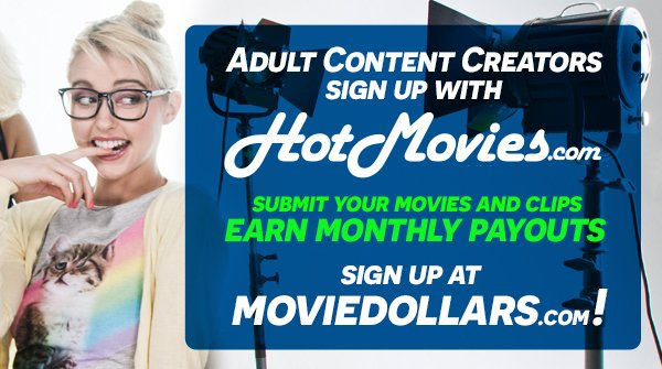 Unlike OnlyFans, we'd never even THINK of getting rid of our porno! 😻 Adult content creators, diversify your income streams & become the next #VOD success story with HotMovies! 🤑Start earning monthly payouts today >> moviedollars.com