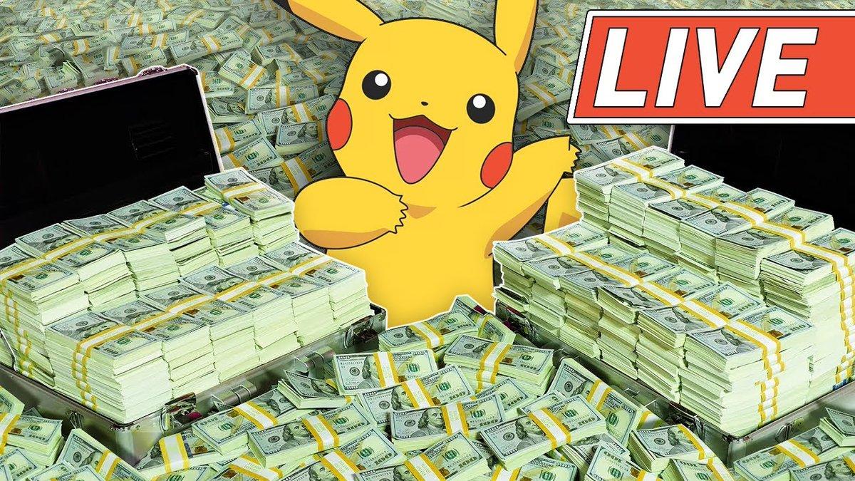 $1,000,000 Pokemon Box Break youtube.com/watch?v=DCnpPO…