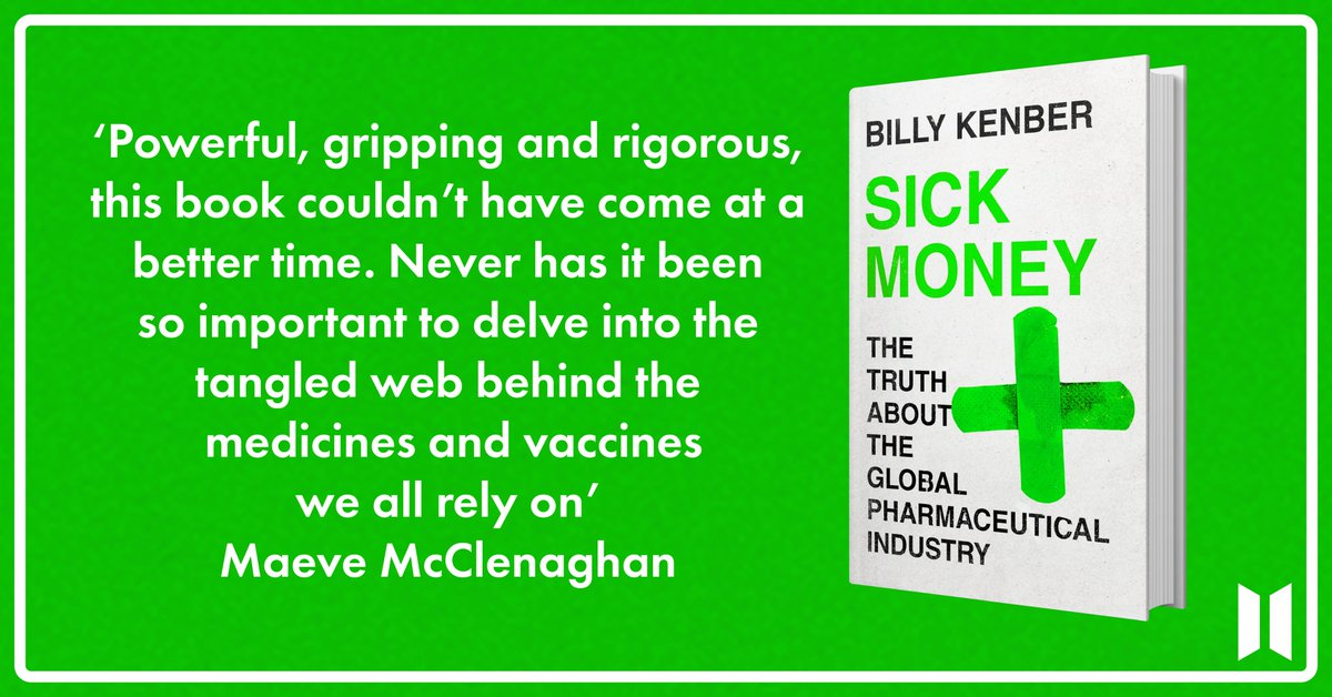 Profits. Prices. Power. How medicines became financial assets. My new book Sick Money is out tomorrow: amazon.co.uk/Sick-Money-Glo…