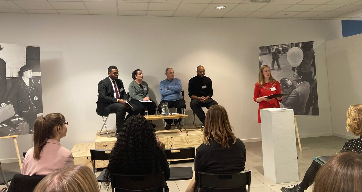 Another big thank you to Emily Miller at @migrationUK who was a wonderful MC at our Migrants in Britain Launch last night as well as the amazing museum staff and volunteers who came to help at the event. #historyteacher @CurriculumBlack @history_sam @Historyandthat @mcps54