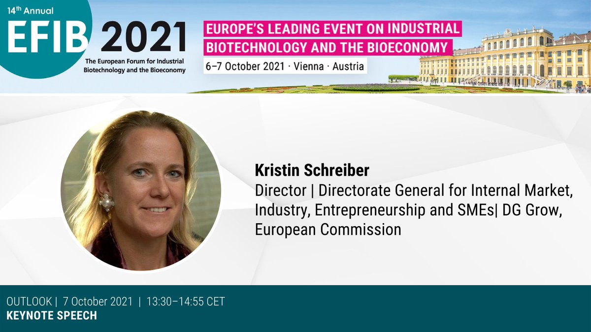 test Twitter Media - ✨#EFIB2021 closing plenary is starting with an insightful keynote speech by Kristin Schreiber, 🇪🇺@EU_Growth, @EU_Commission.   Join us and let's see together what are the future prospects of 🧬🌱#industrial #biotechnology!  #EFIB2021 #biotechnology #EUGreenDeal #bioeconomy https://t.co/6lAab1mhBw