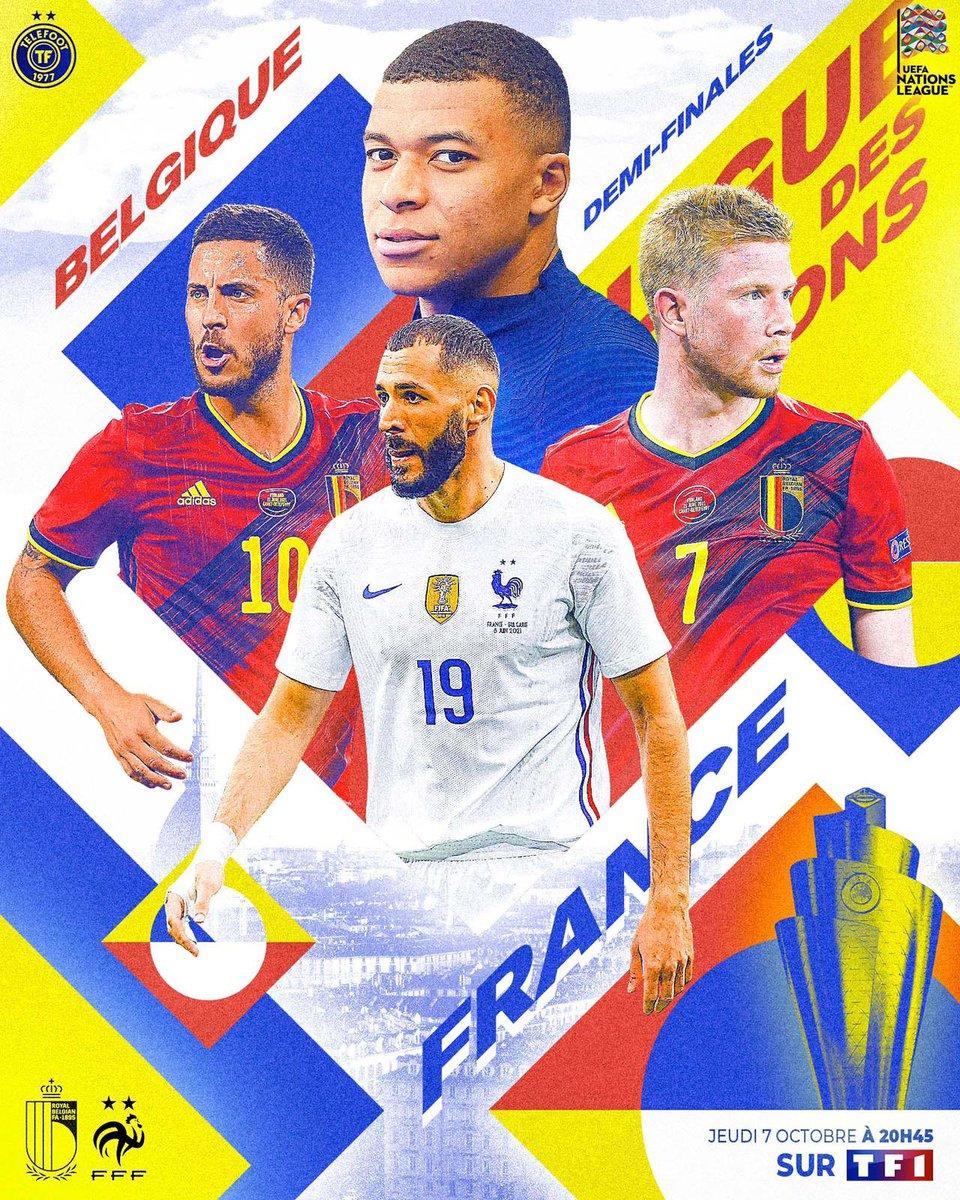 Belgique  -  France ce soir sur TF1