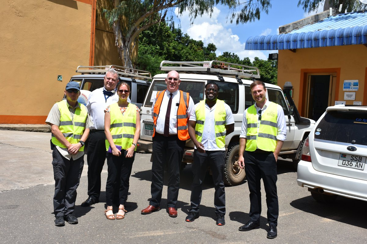 Yesterday we hosted a delegation from @UKinSouthSudan which included Andre Koelin, Kate Johnson Amanda Parry. The team interacted with HPF staff who were distributing the 15th consignment of medicines to HPF supported stated in South Sudan. Read more> https://bit.ly/3aeo5gW