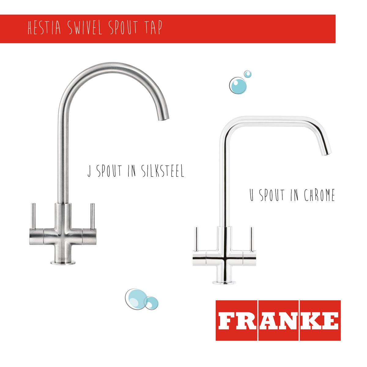Exuding modern elegance, the Hestia tap in our chic new brushed SilkSteel finish gives a beautiful modern aesthetic which offers an alternative to the existing classic Chrome model. franke.com/content/corpor… #moderndesign #kitchenideas