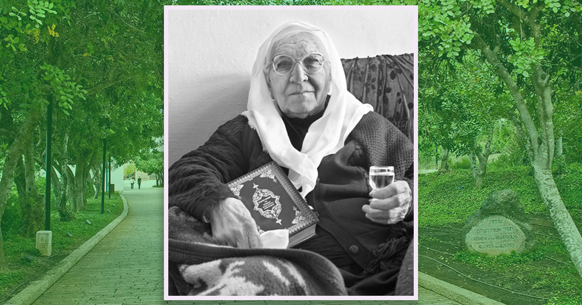 An incredible story of heroism! Meet Righteous Among the Nation Lime Ballah. She and her husband Destan, who are Muslim, hid the 3 Lazar brothers for 15 months in the village of Shengjergji, Albania, from the Nazis during the Holocaust. Via @yadvashem