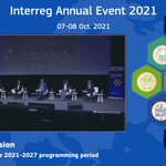 📢What's new for the 2021-2027 programming period?🤔   ▶Learn more by following our panel discussion, live now🔴at the #Interreg2021 Annual Event!