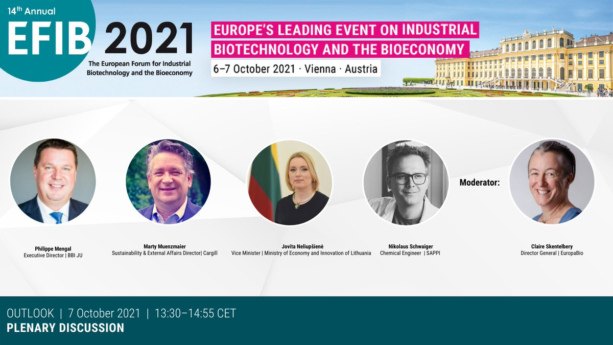 test Twitter Media - 📌What future for #industrial #biotechnology in Europe?   Our closing plenary continues with 🧑🎤a panel discussion W/ @CSkentelbery, @Jovita_Pra, @philippemengal, @Martymuenzmaier, @SappiEurope, @BBI2020, @Cargill!   🗝️Let's hear the key take aways from EFIB this year! https://t.co/pPrcpkUvkL