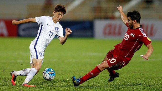 المنتخب السوري يقع أمام كوريا الجنوبية في الوقت القاتل في تصفيات آسيا كاس العالم 2022