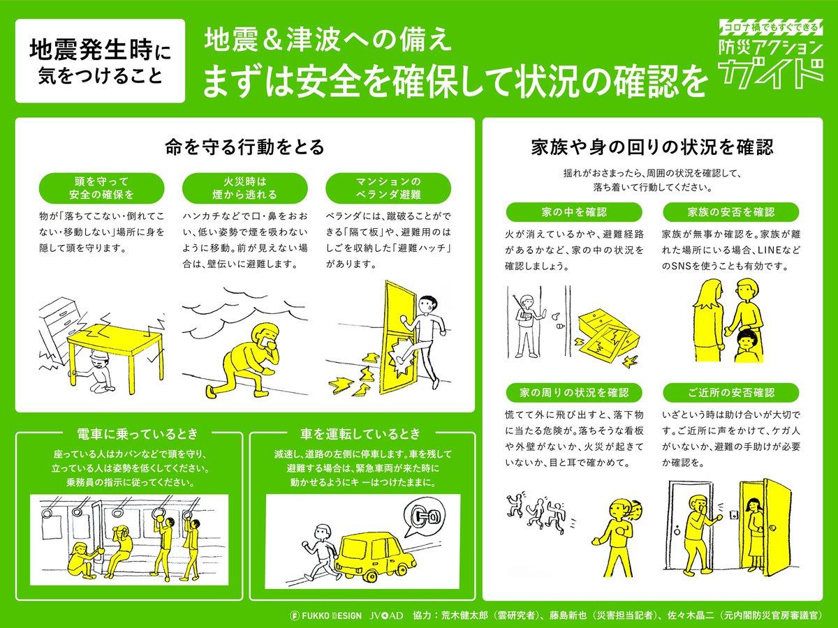 知っておいて損はない!?地震発生時に気をつけることまとめ!