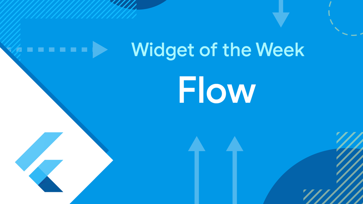 🌀 Find your flow 🌀 Watch the #WidgetoftheWeek and learn how the Flow can help orchestrate your widgets, plus: ✔️ Animate your widgets in 'paintChildren' ✔️ Pass that animation to your delegate ✔️ Optimize performance with shouldRepaint 📺 👉 goo.gle/3DjagdD