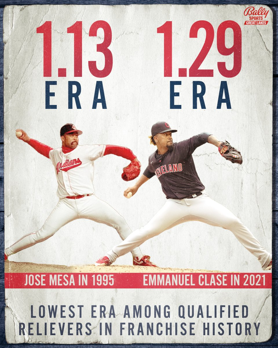 Emmanuel Clase put together one of the best seasons by a reliever in @Indians franchise history 🔥