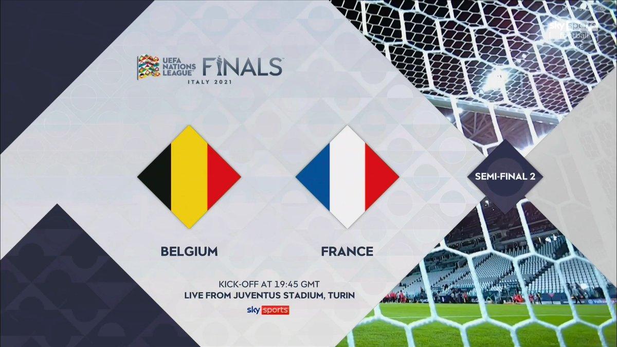 Full match: Belgium vs France