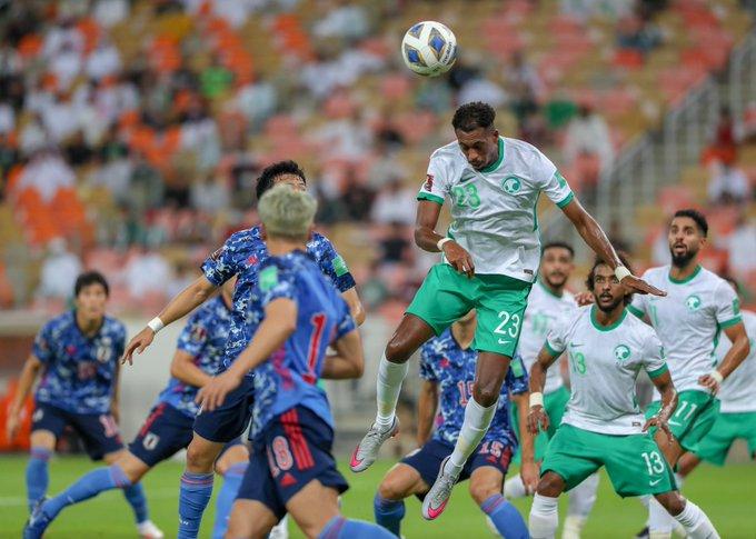 فراس البريكان يقود السعودية للفوز على اليابان في التصفيات