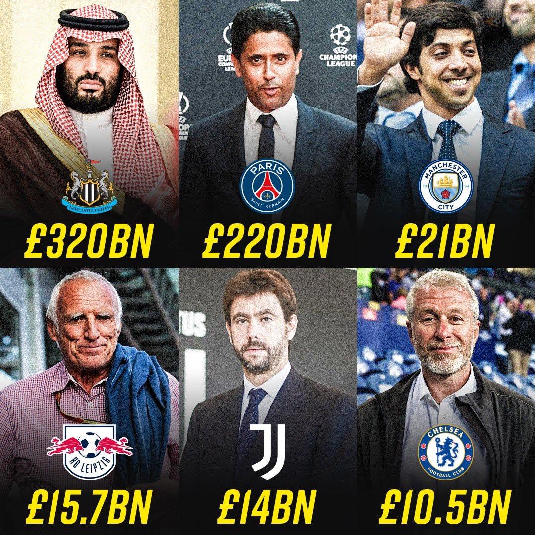 Нюкасъл - най-богат футболен клуб