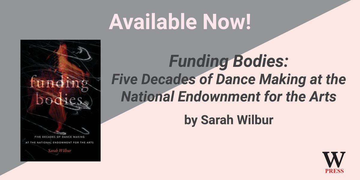 test Twitter Media - How has NEA funding policies shaped the field of dance? Out now!   Order from https://t.co/Zwet6T3onh  using code Q301 for a 30% discount.  #SarahWilbur #FundingBodiesDance #Performance #NEA #Funding #PeopleinPower https://t.co/hUyzdD1Xap