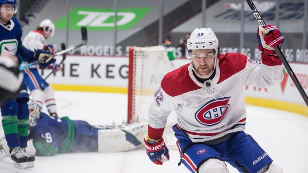 Habs' Drouin a late scratch due to non-Covid related illness. MORE: tsn.ca/1.1703707