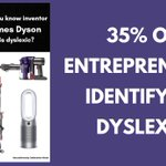 Image for the Tweet beginning: About 35% of entrepreneurs identify