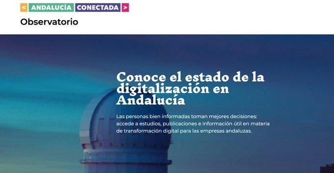 Conoce el observatorio de Andalucía Conectada