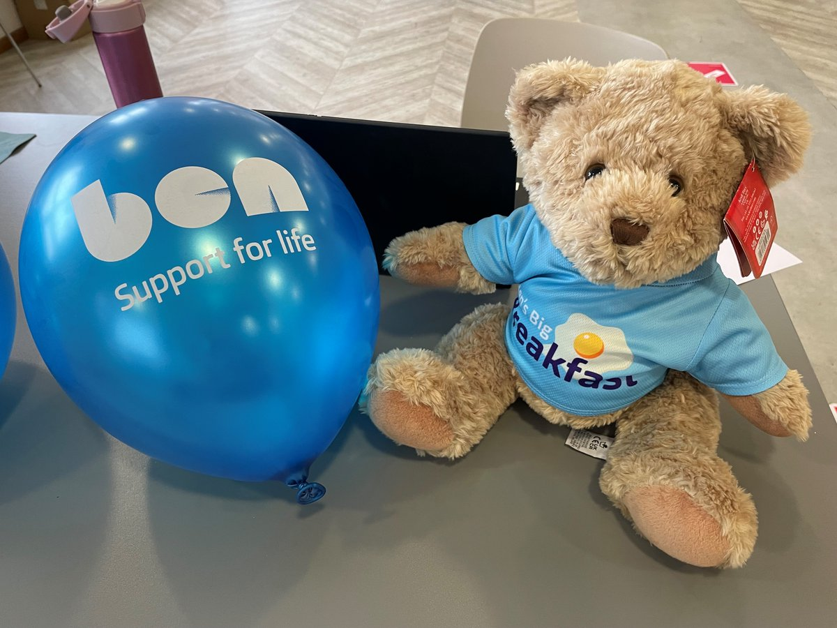 A fantastic morning had by all at #BensBigBreakfast. 🍳  Thanks to all colleagues who participated in the fundraiser.   The @BenSupport4Auto Bear's winning name is Jax!   We're proud to back such a brilliant charity.   Learn more about Ben's services here: https://t.co/XHGB6WHfFr https://t.co/3zMDnu4b9m