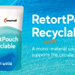 Image for the Tweet beginning: Recyclable in its entirety! Mondi