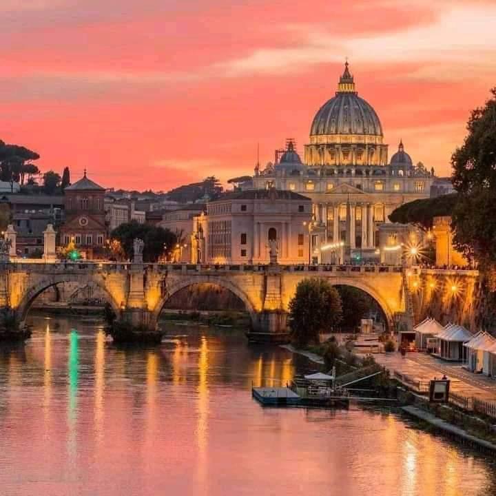 Evening walks all around Rome, Italy 🇮🇹