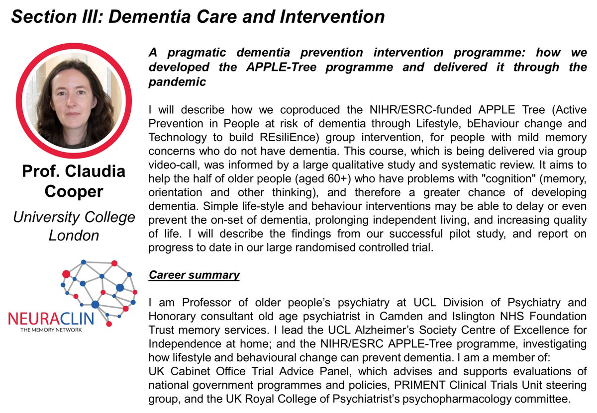 Looking forward to talking about the ongoing @APPLE_TreeStudy at this event and how we successfully adapted it to the pandemic, supported by our funders @ESRC @NIHRresearch  @NTDeNDRoN and collaborators @unleash_health @ProfAMMinihane @NickBas55312976 @MarchantLabUCL https://t.co/SY74V9TBdR