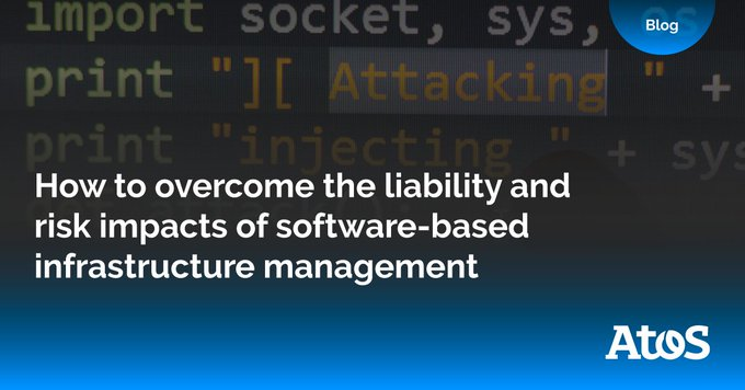 Recently, we explored how software-based control of applications and infrastructure has become...
